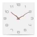 """Sieninis laikrodis """"Baltoji elegancija 28"""" (30 cm)"""