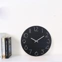"""Sieninis laikrodis """"Juodoji elegancija 2"""" (30 cm)"""