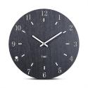 """Sieninis laikrodis """"Juodoji elegancija 5"""" (30 cm)"""
