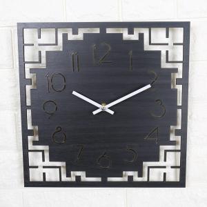 """Sieninis laikrodis """"Juodoji elegancija 6"""" (30 cm)"""