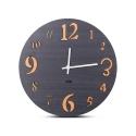 """Sieninis laikrodis """"Juodoji elegancija 8"""" (30 cm)"""