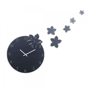 """Sieninis laikrodis """"Elegantiškos gėlytės"""" (30 cm)"""