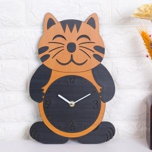 """Sieninis laikrodis """"Elegantiškas katinukas"""" (30 x 20 cm)"""