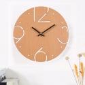 """Sieninis laikrodis """"Medinė elegancija 2"""" (30 cm)"""