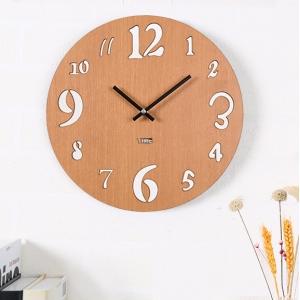 """Sieninis laikrodis """"Medinė elegancija 3"""" (30 cm)"""