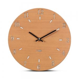 """Sieninis laikrodis """"Medinė elegancija 4"""" (30 cm)"""