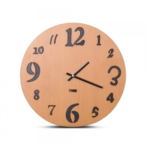 """Sieninis laikrodis """"Medinė elegancija 7"""" (30 cm)"""