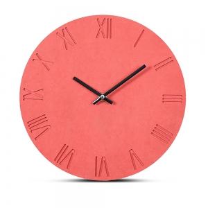 """Sieninis laikrodis """"Rausvoji elegancija"""" (30 cm)"""