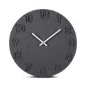 """Sieninis laikrodis """"Juodoji elegancija 10"""" (30 cm)"""