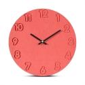 """Sieninis laikrodis """"Rausvoji elegancija 2"""" (30 cm)"""