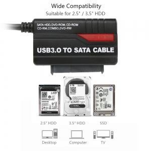 """USB 3.0 į SATA keitiklis """"Aukščiausia klasė"""""""