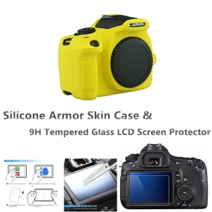 """Silikoninė fotoaparato apsauga """"Canon EOS 1300D, 1500D, Rebel T6"""""""