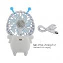 """Rankinis mini kūdikių ventiliatorius """"Gaivumos nuostabuma"""" (USB  pakraunamas, LED)"""