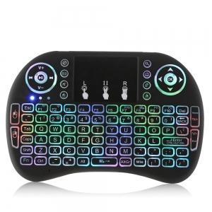 """Belaidė klaviatūra """"Septynios spalvos"""" (spalvų apšvietimas)"""