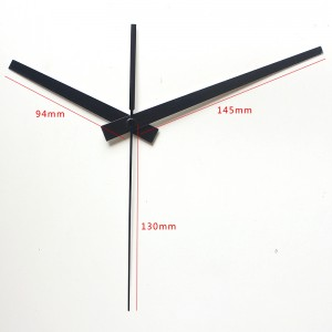 Laikrodžio mechanizmas 36 (Juodos spalvos, didelis)