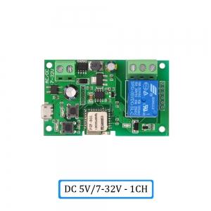 "Automatinis 1 įrenginio modulis ""Protingi namai"" (DC 5V, 7/32 V, WiFi, 433 MH)"