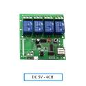"""Automatinis 4 įrenginių modulis """"Protingi namai"""" (DC 5V, WiFi, 433 MH)"""