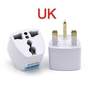"""UK į EU / US / UK / AU elektros lizdo perėjimas """"Išvažiuoju į UK"""""""