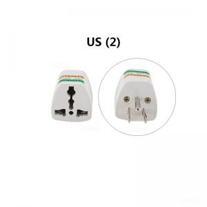 US  į EU / US / UK / AU elektros lizdo perėjimas