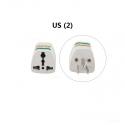 """US į EU / US / UK / AU elektros lizdo perėjimas """"Išvažiuoju į Ameriką"""""""