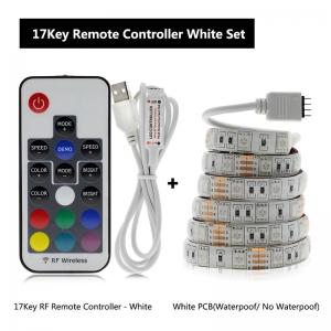 """Nuotolinio valdymo LED lempučių juosta """"Šviesos džiaugsmas"""" (17 mygtukų nuotolinis valdymas)"""