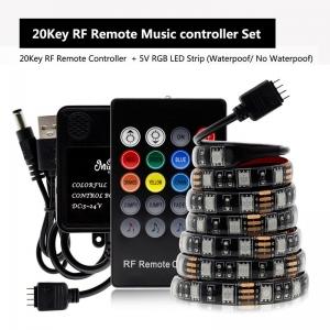 """Nuotolinio valdymo LED lempučių juosta """"Šviesos džiaugsmas"""" (20 mygtukų nuotolinis valdymas)"""