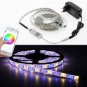 """Nuotolinio valdymo LED lempučių juosta """"Šviesos džiaugsmas 2"""" (5 M, 60 LED, Bluetooth valdymas)"""