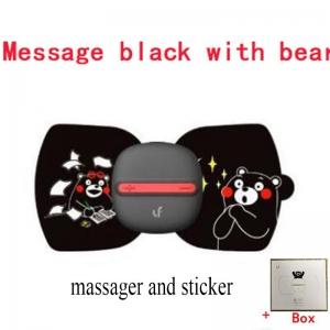 """Nešiojamas masažuoklis """"Nuostabus malonumas"""" (masažuoklis + lipdukas + dėžutė)"""