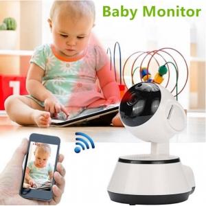 """Stebėjimo IP kamera """"Robotukas 4"""" (720P, Wifi, Wireless, naktinio matymo)"""