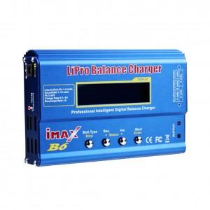 Lion, LiPo, LiFe (A123), Pb, NiCd ir NiMH baterijų Įkrovėjas