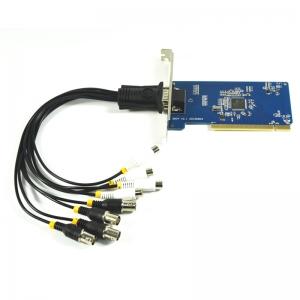 4 kanalų CCTV DVR į PCI video įrašymo įtaisas