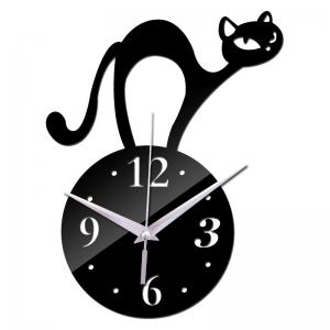 """Sieninis laikrodis """"Stilingiausias katinas"""""""