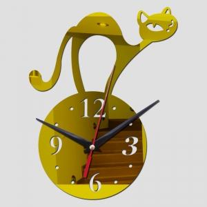 """Sieninis laikrodis """"Stilingiausias katinas 3"""""""