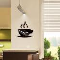 """Sieninis laikrodis """"Kavos puodelis"""""""