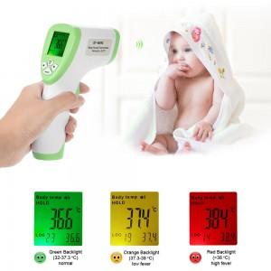Skaitmeninis termometras vaiko kūno temperatūrai matuoti