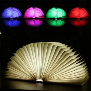 """Pastatoma LED lempa """"Šviečianti knyga 2"""""""