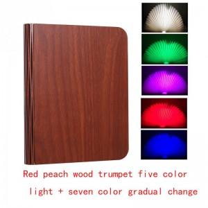 """Pastatoma LED lempa """"Šviečianti knyga 5"""" (penkios spalvos)"""