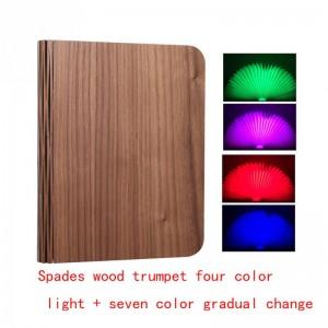 """Pastatoma LED lempa """"Šviečianti knyga 6"""" (keturios spalvos)"""