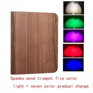 """Pastatoma LED lempa """"Šviečianti knyga 4"""" (keturios spalvos)"""