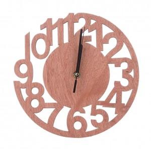 """Sieninis laikrodis """"Naujas stilius"""" (23 x 23 cm, medinis)"""