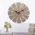 """Sieninis laikrodis """"Modernūs romėniški skaičiukai"""" (30 x 30 cm, medinis)"""