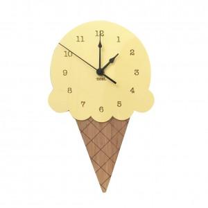 """Sieninis laikrodis """"Ledai"""" (28 x 16 cm, medinis)"""