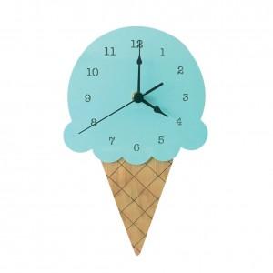 """Sieninis laikrodis """"Ledai 2"""" (28 x 16 cm, medinis)"""