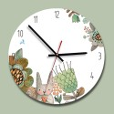 """Sieninis laikrodis """"Zuikis puikis"""" (30 x 30 cm, medinis)"""
