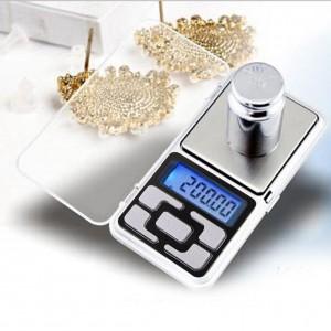 Skaitmeninės juvelyrikos gaminių svarstyklės (iki 500 gr. tikslumas 0,01 g.)