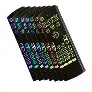 """Erdvinė klaviatūra """"Spartuolis"""" (su spalvotu apšvietimu)"""
