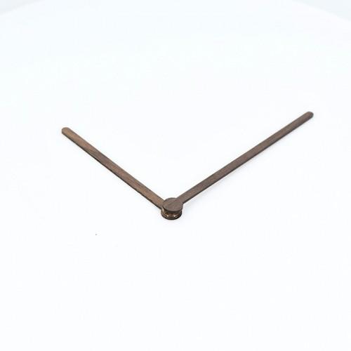 """Laikrodžio mechanizmas + medinės rodyklės """"Medžio stilius 5 (12 cm)"""