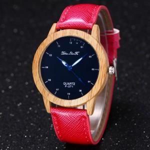 """Moteriškas rankinis laikrodis """"Medžio stilius 3"""""""