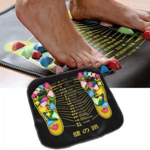 """Akupunkūrinis masažinis kilimėlis-masažuoklis """"Jūros kriauklelių kelias 2"""" (pėdų masažui ir atsipalaidavimui)"""