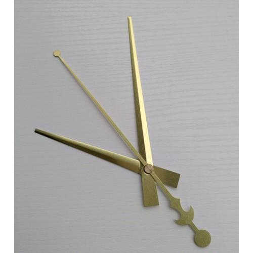 """Laikrodžio mechanizmas """"Auksiniai kardai su alebarda"""""""